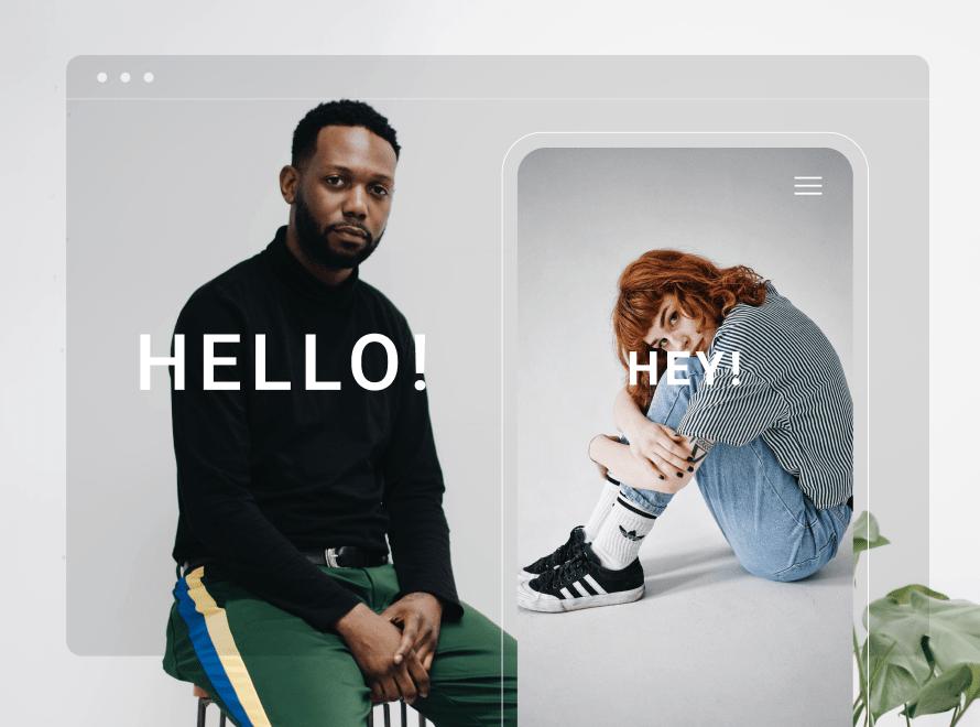 website core message