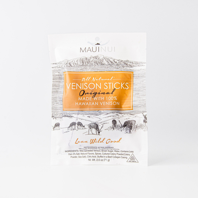 Maui Nui | All Natural Venison Sticks