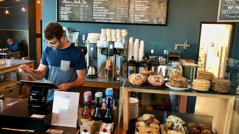 Thump Coffee Shop, Bend, Oregon