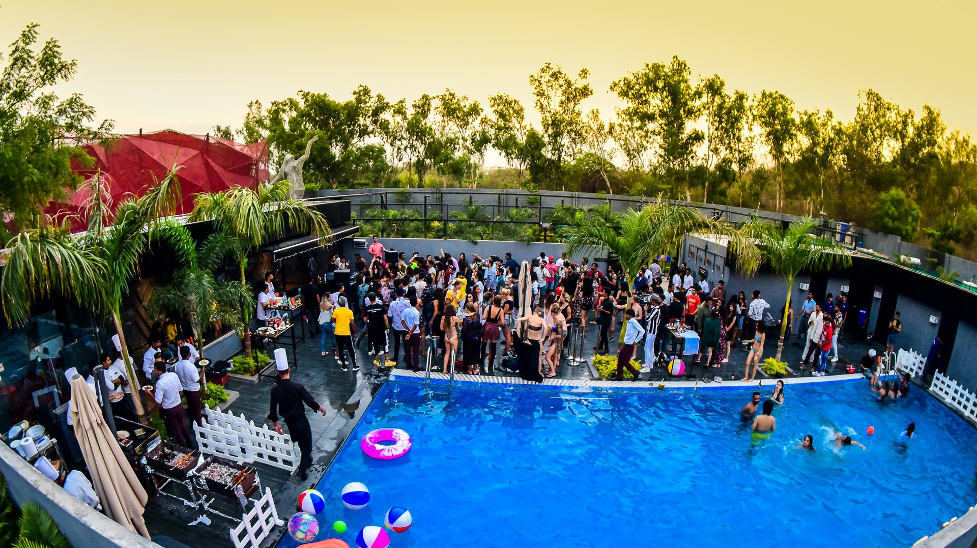 Exclusive Pool Party only at Prism Club & Kitchen