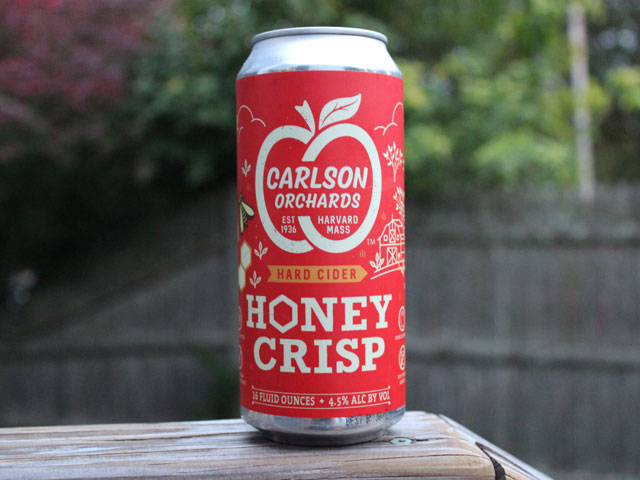 Honey Crisp is a hard cider by Carlson Orchards