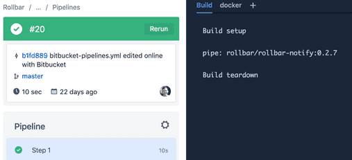 Introducing the Rollbar Pipe for Bitbucket Pipelines