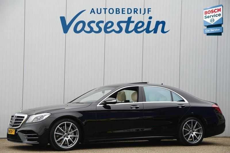 Mercedes-Benz S-Klasse 560 4Matic Lang Premium Plus 470pk / AMG / Nwpr: E186.000,- / Full Options! afbeelding 13
