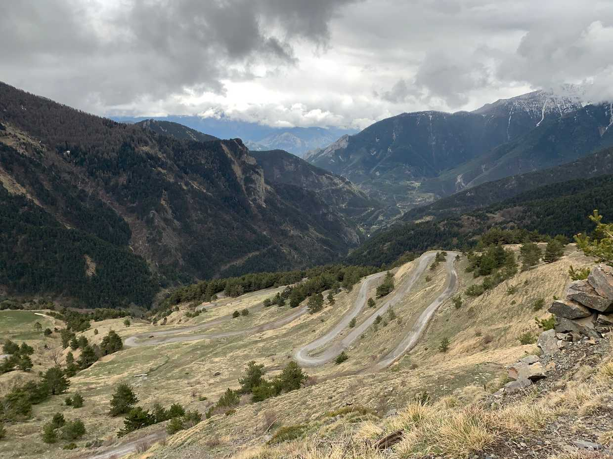 French Alps to Italy via Colle di Tende cover image