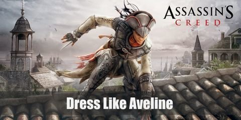 Aveline De Grandpre outfit is very empowering as well. Instead of a dress or long skirt, she wears pants which allow her greater mobility and better fighting skills
