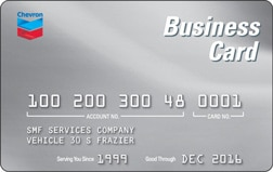 Chevron business card canada card