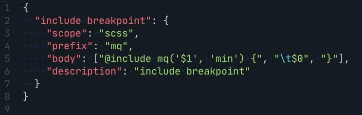VS Code- Snippet 3