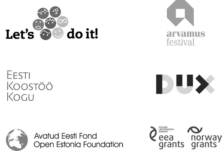 Logo pendukung dan mitra Citizen OS Foundation.