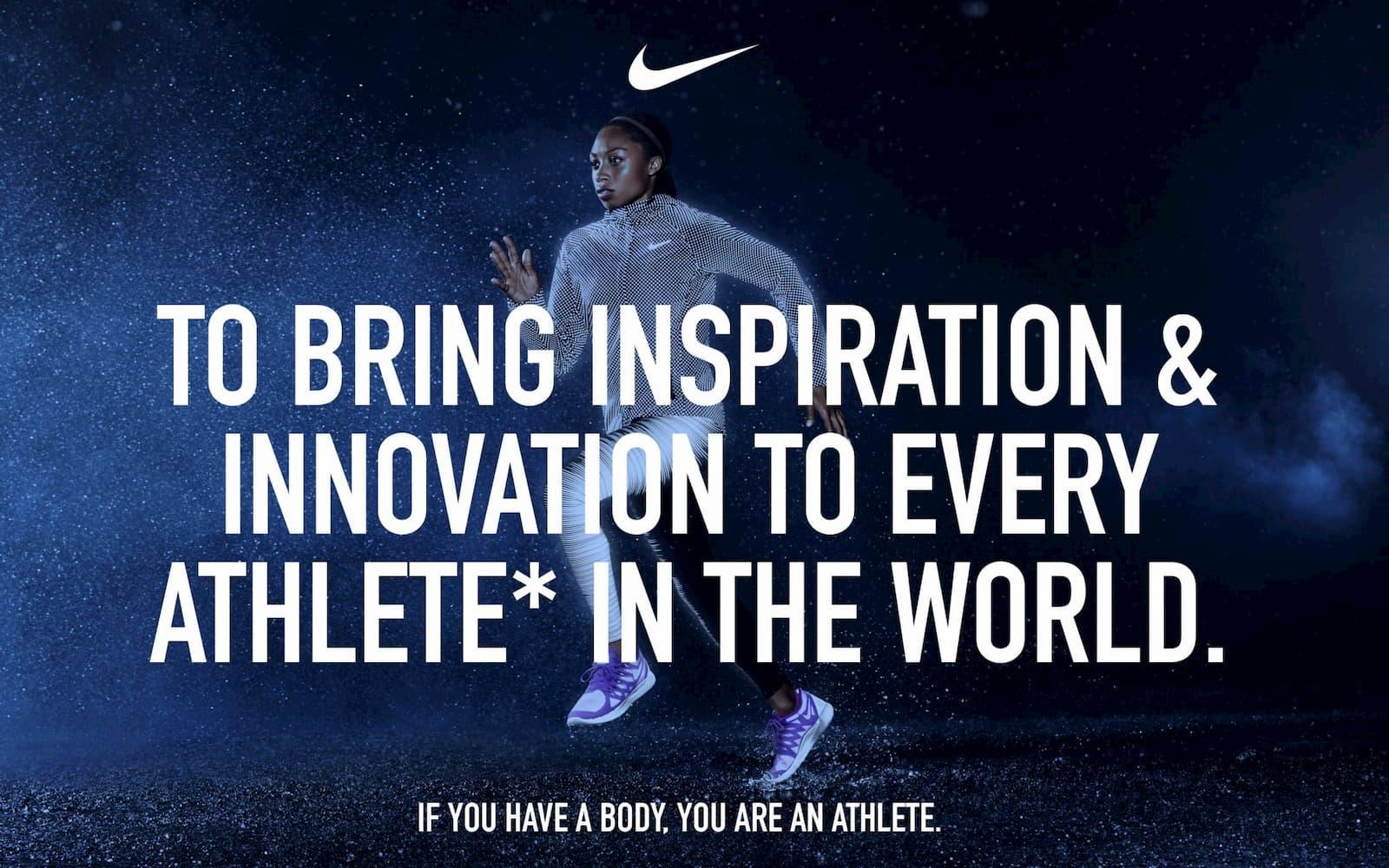 Nike brand promise