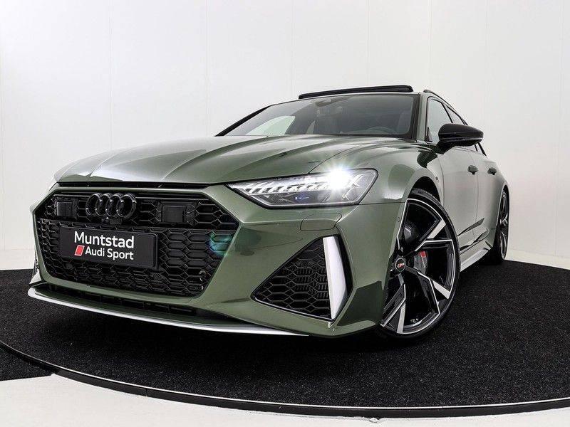Audi A6 Avant RS 6 TFSI 600 pk quattro | 25 jaar RS Package | Dynamic + pakket | Keramische Remschijven | Audi Exclusive Lak | Carbon | Pano.dak | Assistentie pakket Tour & City | 360 Camera | afbeelding 13