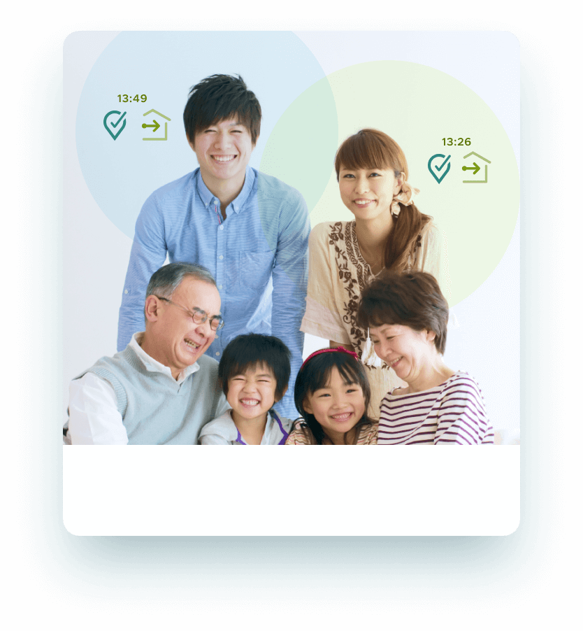 SmartDrive Families 高齢者の運転見守りサービス