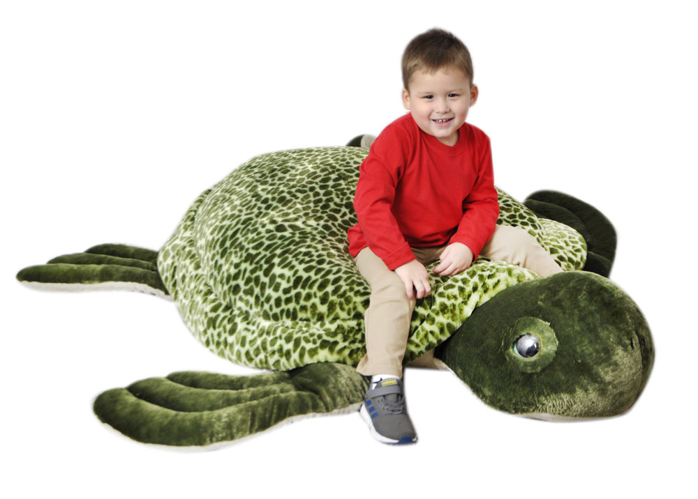 "The Petting Zoo: 50"" Jumbo Sea Turtle"