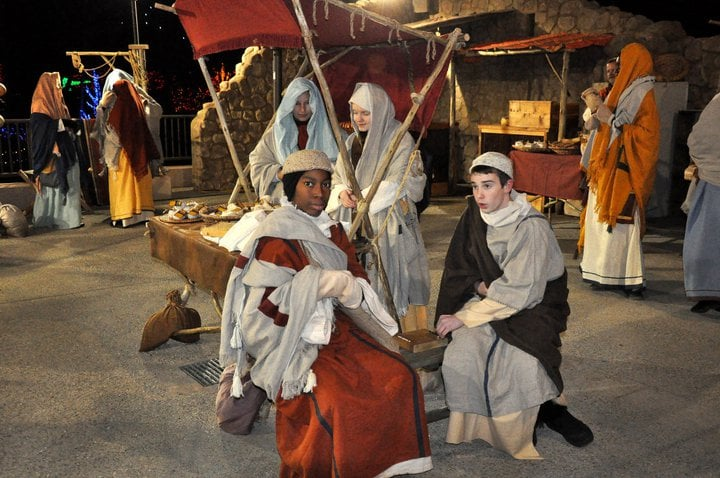 Bethlehem market at Christmas Town