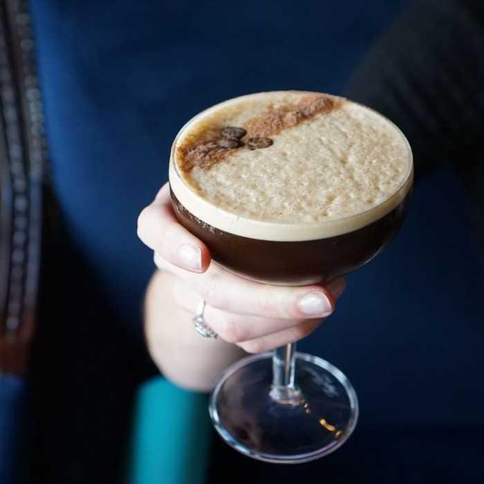 Espresso Rumtini Cocktail