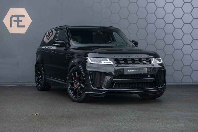 "Land Rover Range Rover Sport SVR 5.0 V8 SC Carbon interieur, Stoelkoeling, Head-up, Panoramadak, Elektrische Trekhaak, 22"", Pixel Laser Led Koplampen, Apple Carplay, 360Camera, Meridian Surround, Verwarmbaar Stuurwiel afbeelding 6"