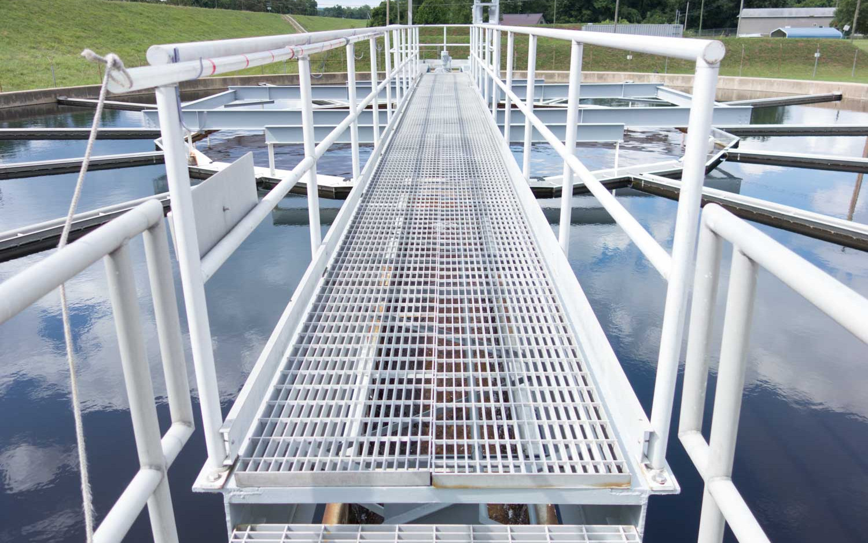 PUB water treatment walkway