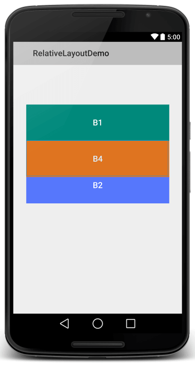 Relative Layout View 6