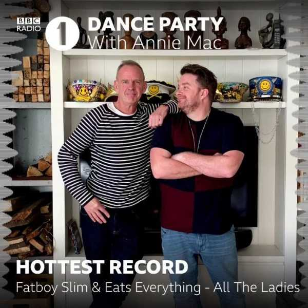 Absolute banger out today from our own @officialfatboyslim and @eatseverything! Thanks to @anniemac and @bbcradio1 for the hottest record in the world!