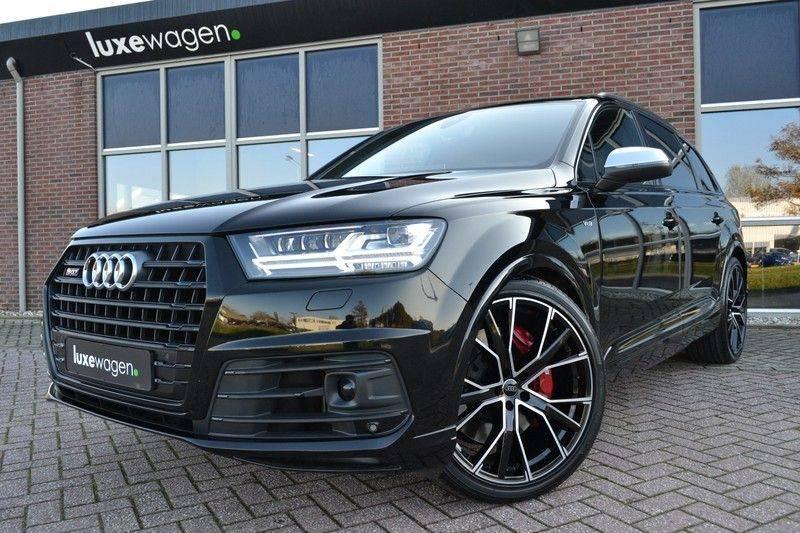 Audi SQ7 4.0 TDI 435pk quattro Pano Nachtz ACC HUD 4wielbest Ruitstiksel Luchtv 22inch Carbon afbeelding 16