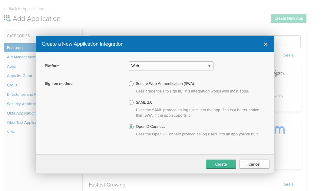Create App for loft