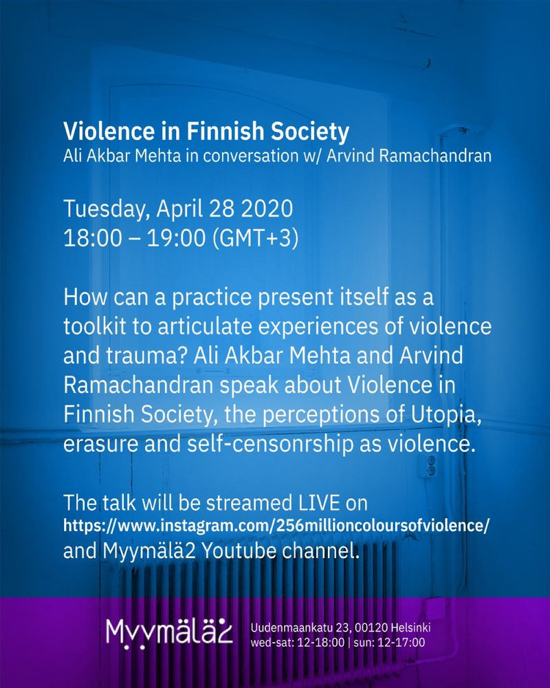 256 ~ Violence in Finnish Society: In conversation with Arvind Ramachandran