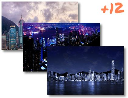 Hong Kong theme pack