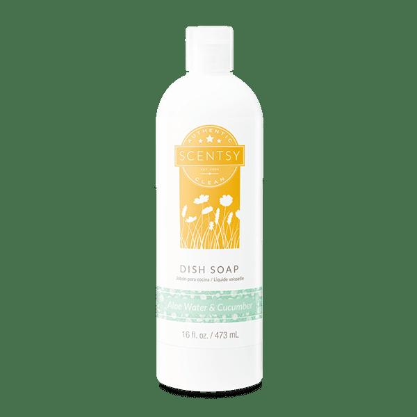 Aloe Water & Cucumber Dish Soap