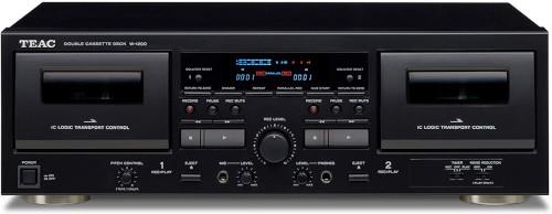 A typical dual cassette deck hi-fi
