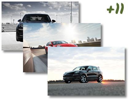 Porsche Cayenne theme pack