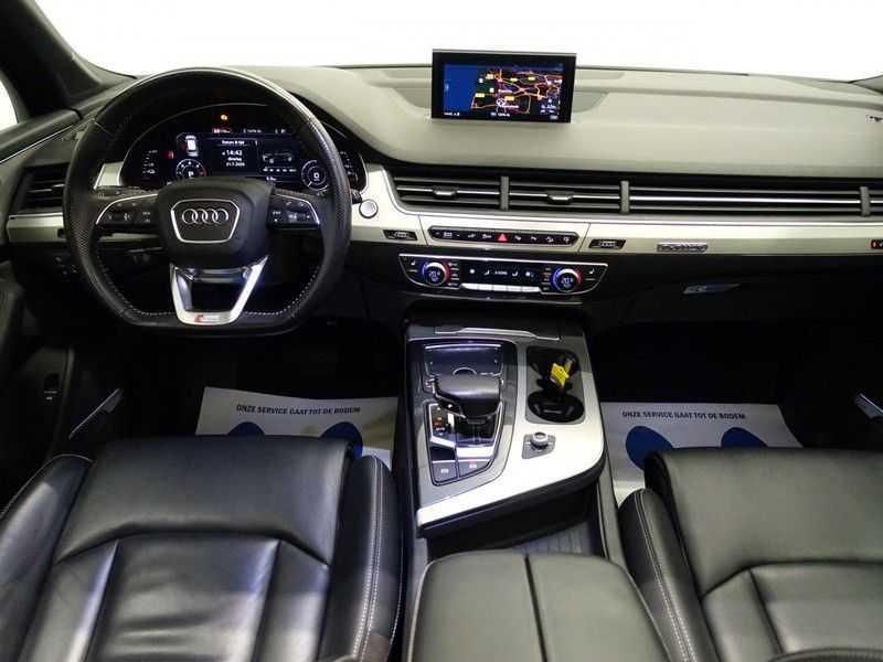 Audi Q7 3.0 TDI e-tron 374pk Quattro Sport S-line- Pano, Bose, Virtual Cockpit, Leer,  Full! afbeelding 6