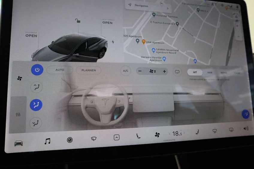Tesla Model 3 Performance | prijs ex.btw 51450,- | 20`LM Donker grijs. afbeelding 13