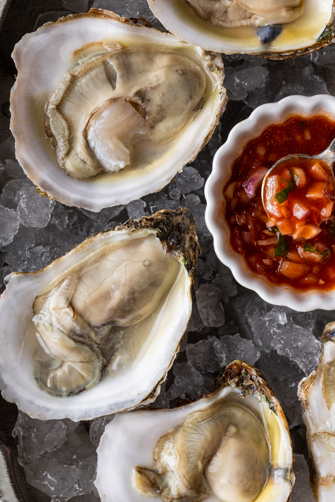 Zesty chili oyster sauce