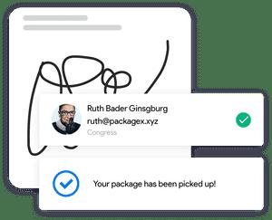 PackageX signature feature