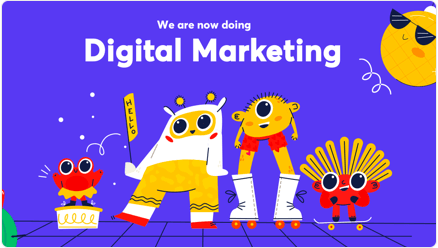 Started marketing division