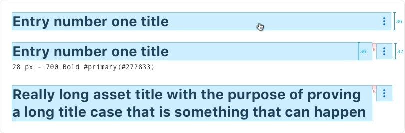 Blog Entry Title metrics
