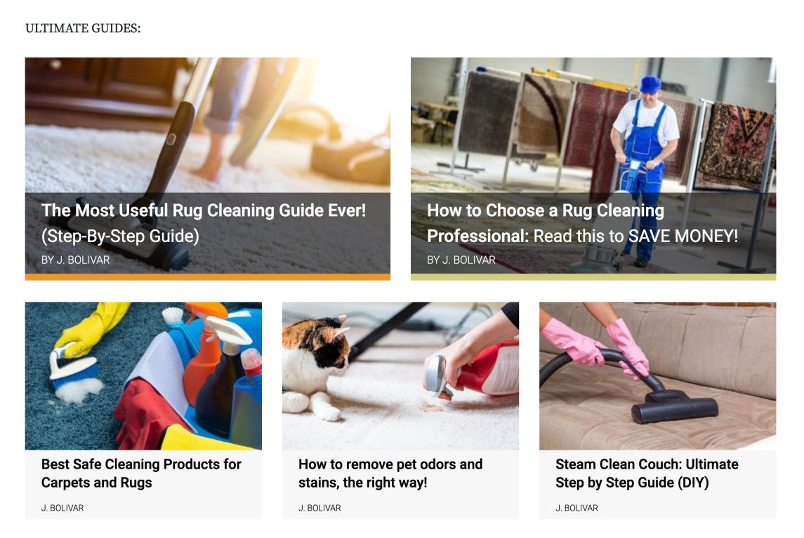 Rug Cleaning World