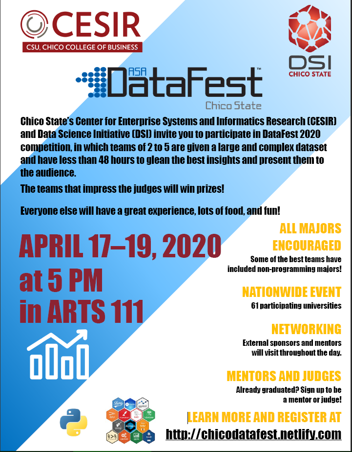 DataFest Flyer