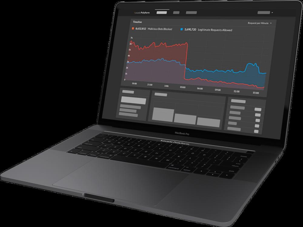 Polyform Dashboard on Laptop