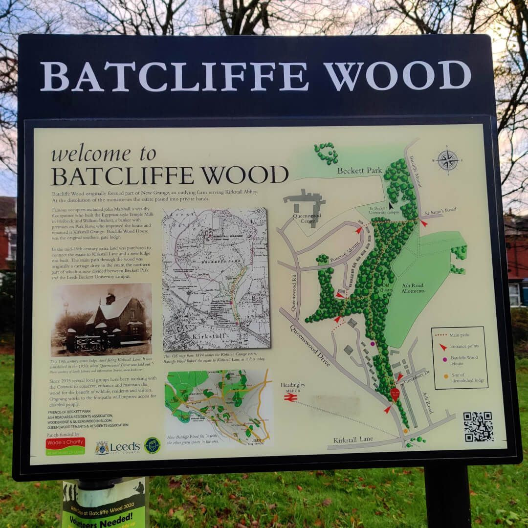 Batcliffe Wood Sign
