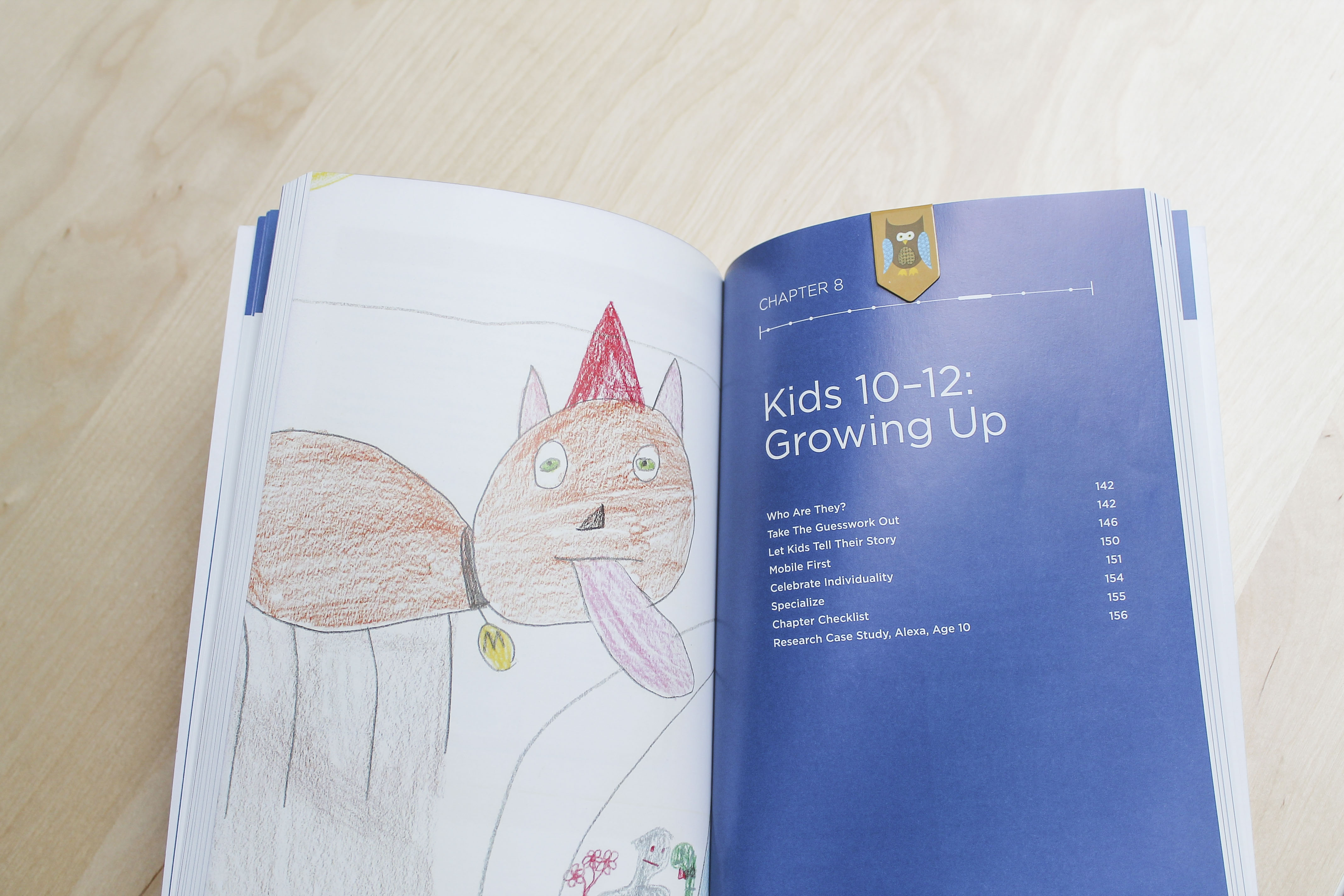 Picture of interior picture of Design for Kids book