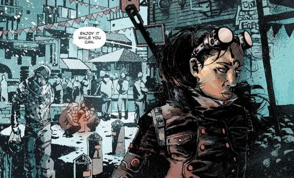 Keaton chega com sua equipe a uma nova cidade em Frostbite da Vertigo