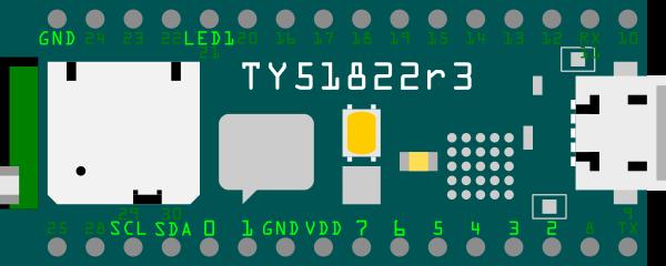 TY51822r3 PIN 配置図
