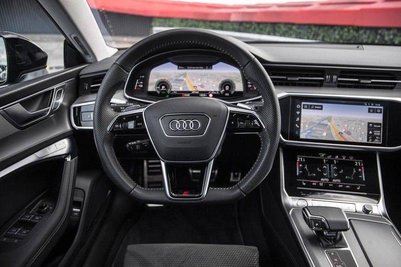 Audi A7 Sportback 55 TFSI e 367 pk Quattro Competition | Verlengde garantie | 2 x S-Line | Nachtzicht-assistent | panorama dak | Head-up display | Trekhaak | 360 camera | Stoelverwarming vóór en achter | afbeelding 23