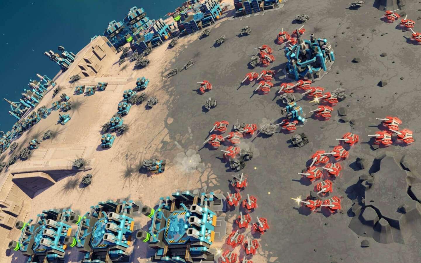 Planetary Annihilation Gameplay