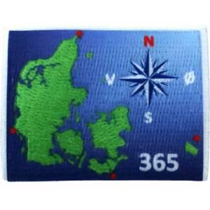Danmarks kompas 365 spejdermærke