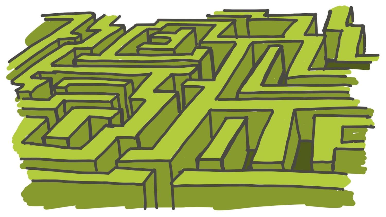 Idea maze