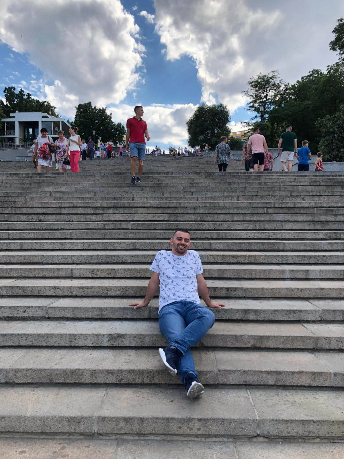 Odessa Prymorskyi Boulevard
