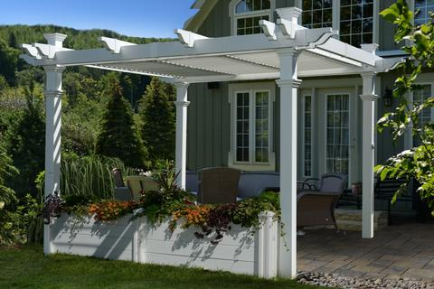 Vinyl Arbors And Pergolas Accessory Page Canada And Usa