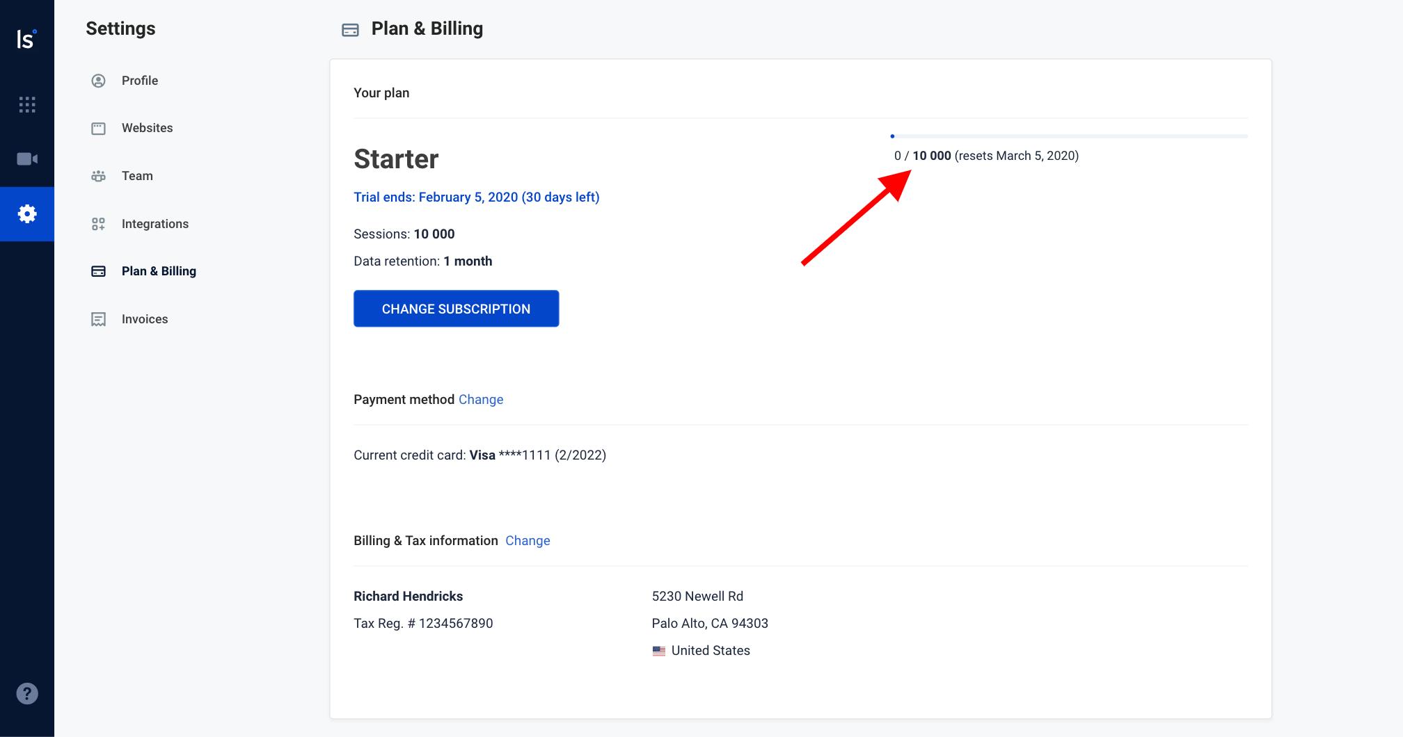 Plan & Billing - quora limit