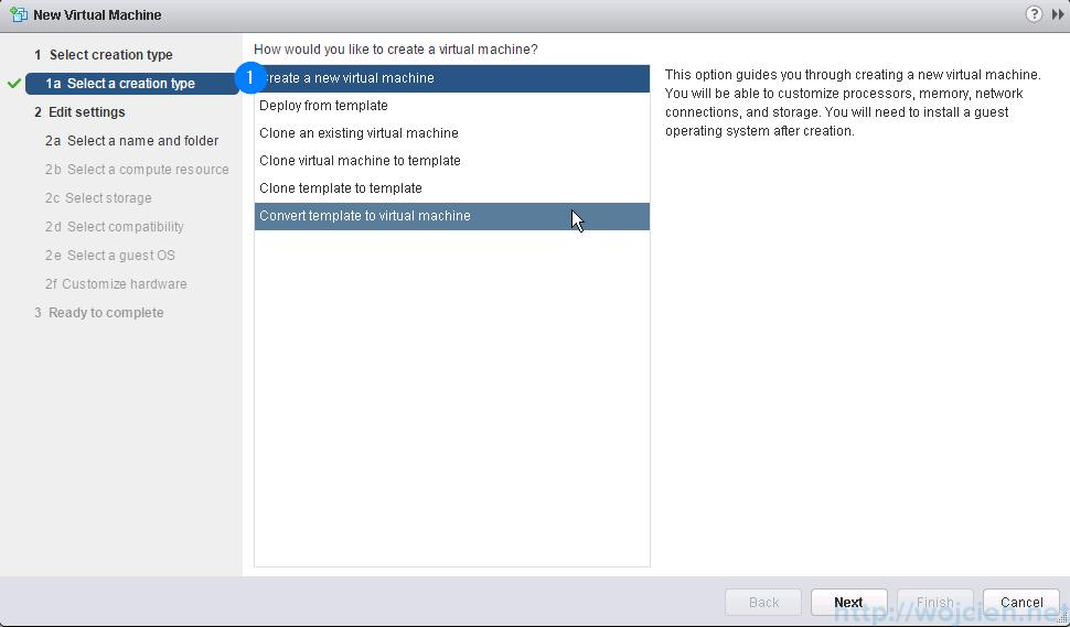 VMware ESXi 6.0 as nested virtual machine - New virtual machine wizard
